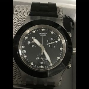 Swatch Watch Full Blooded Night SVCK4035AG